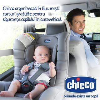 Chicco te invita sa te inscrii la cursul de siguranta copilului in autovehicul!