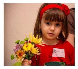 Atelier de creatie florala pentru copii sustinut de Magia Florilor