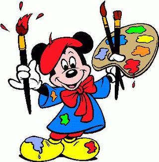 Atelierele lui Minnie si Mickey Mouse