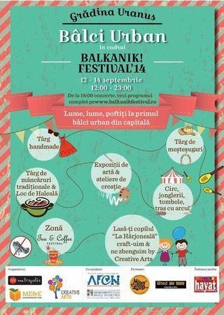 Creative Arts le da copiilor liber la zbantuiala la Balkanik Festival