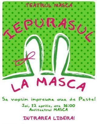 Copiii vopesc oua la Teatrul Masca!