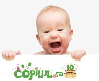 Copilul.ro, de 10 ani alaturi de voi!