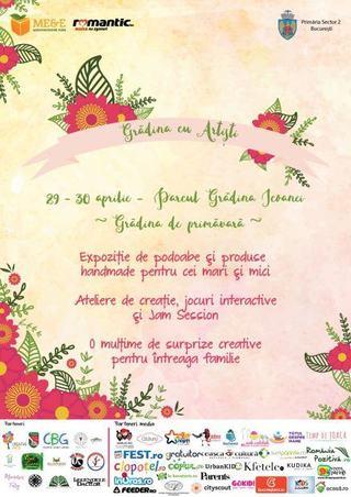 Weekendul de 1 mai il petrecem in Bucuresti, in parcul Gradina Icoanei, la Gradina cu Artisti de primavara