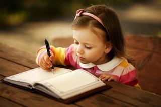 Primele lectii de scris pentru copiii mici