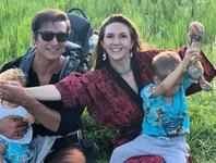 Adela Popescu a ales trei nume pentru cel de-al treilea copil