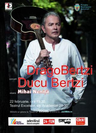 Concert DragoBertzi, 22 februarie 2013, Teatrul Excelsior