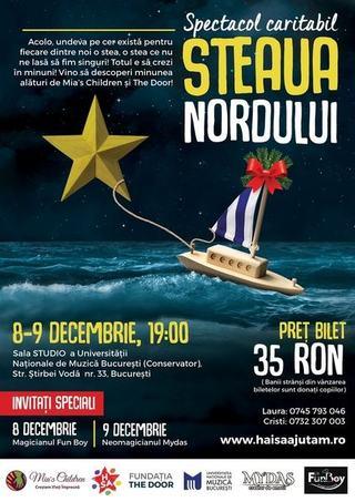 Spectacol Caritabil de Craciun Steaua Nordului