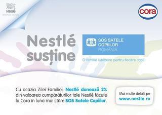 15 mai: De Ziua Internationala a Familiei, Nestlé vine in sprijinul Organizatiei SOS Satele Copiilor Romania