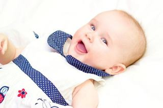 Rasul bebelusilor,  semn ca invata