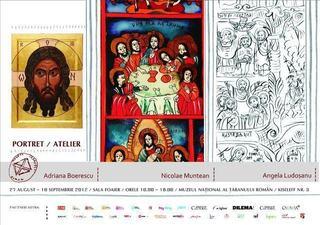 Portret / Atelier, la  Muzeul National al Taranului Roman