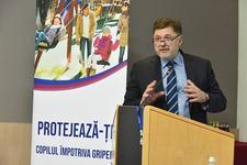 Prof.dr. Alexandru Rafila: Copiii si adolescentii au risc crescut de imbolnavire de gripa