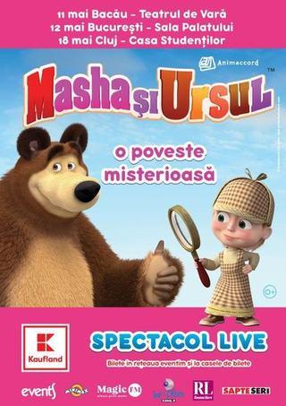 Andra Gogan ii da din nou voce Mashei in spectacolul Poveste Misterioasa