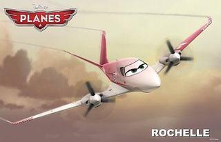 Rochelle, iubitoarea de viteza din Planes
