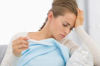 Febra in sarcina