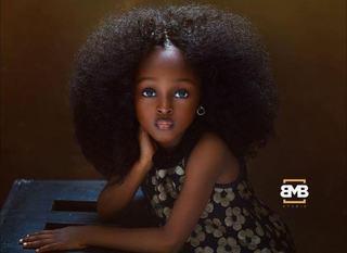 Cum arata cea mai frumoasa fetita din lume