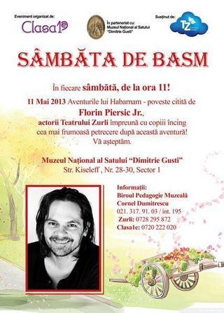Sambata de Basm la Muzeul National al Satului Dimitrie Gusti!