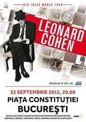 Concert Leonard Cohen in Piata Constitutiei