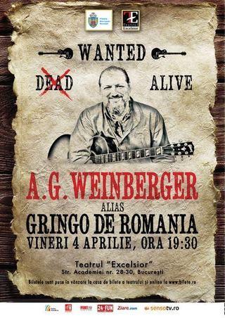 AG Weinberger este Gringo de Romania