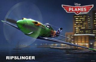 Ripslinger, un adversar de temut pentru Dusty din Planes