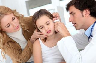 Otita externa la copii