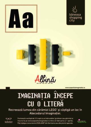 Vino sa vezi cum caramizile LEGO® dau viata imaginatiei!