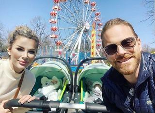 Alina și Ilan Laufer nu isi vor boteza gemenii. Ce ritual vor face in schimb