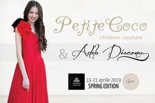 Casa de moda Petite Coco si producatorul Tv Adela Diaconu, lanseaza o colectie glamorous pentru copii la BFW