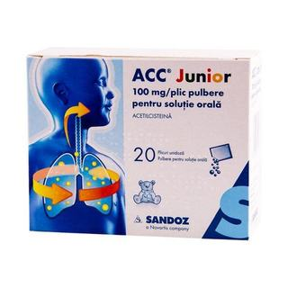 ACC Junior - pulbere pentru solutie orala