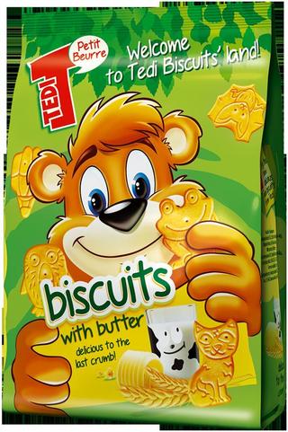 Tedi are pentru tine, biscuiti deliciosi cu vitamine