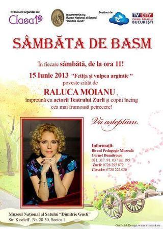 Sambata de Basm la Muzeul Satului, 15 iunie 2013