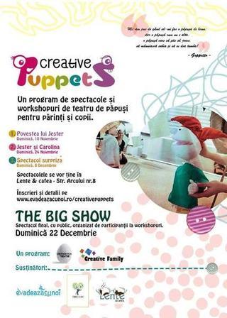 Creative Puppets - teatru de papusi