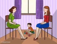 Test: Care dintre cele doua femei este mama copilului. Afla raspunsul