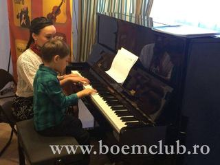 A Piano in the Living Room, primul spatiu cultural la care are acces un copil
