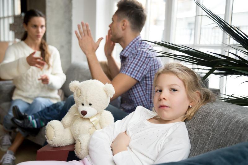 Ce se intampla in mintea copiilor cand parintii se cearta in fata lor