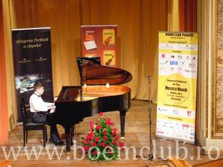 Premii de 8.000 Euro la Concursul National de Pian Musica Mundi si Expozitia de piane marca Perzina