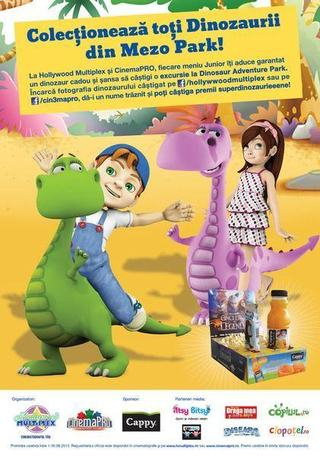In iunie, la Hollywood Multiplex  si CinemaPRO, Copiii descopera lumea pierduta a dinozaurilor