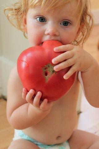 Cand introducem rosiile in alimentatia copilului