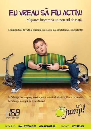 Let's jump!, un program de sport si nutritie care ii ajuta pe copii sa creasca sanatos