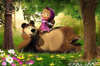 Ce jocuri poti juca cu Masha and The Bear