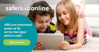 ESET lanseaza platforma Safer Kids Online pentru a mentine siguranta copiilor in lumea digitala