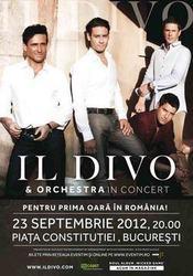 Concert Il Divo in Piata Constitutiei