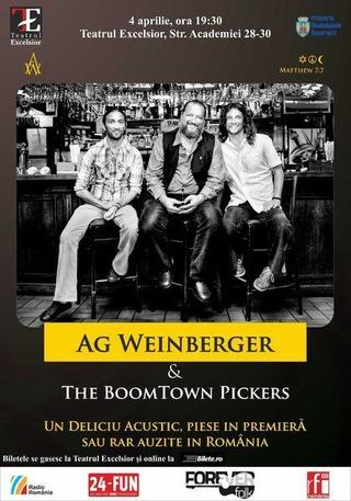 AG Weinberger and The BoomTown Pickers - Un Deliciu Acustic, Teatrul Excelsior