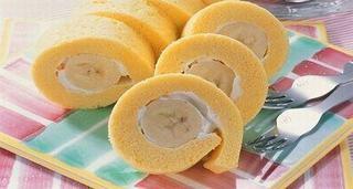 Rulada cu banane