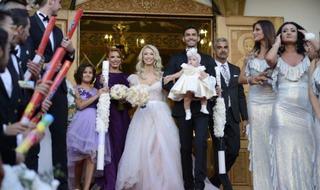 Cati bani a strans Andreea Balan la dubla petrecere: nunta si botezul fetitei