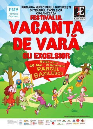 Film si teatru pentru copii in Parcul Bazilescu intre 4-15 august