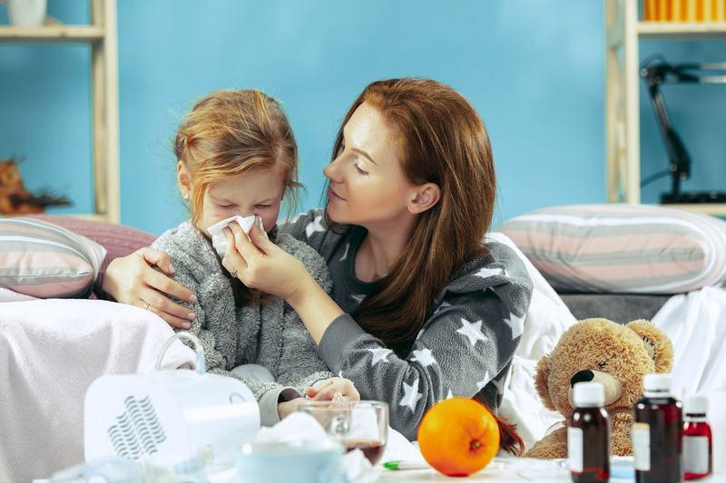Racelile si virozele la copii. Simptomele care indica dezvoltarea de complicatii