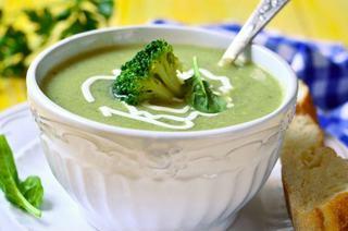 Piure de cartof cu broccoli