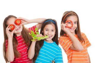Alimentatia vegana si raw pentru copii