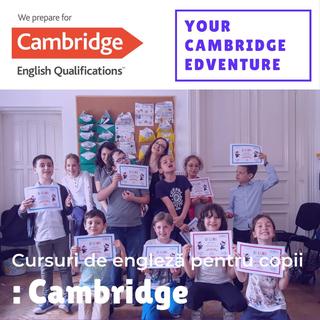 Avantajele cursurilor de engleza Cambridge EdVenture pentru copii