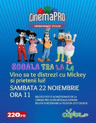 Vino sa te distrezi cu Mickey si prietenii lui